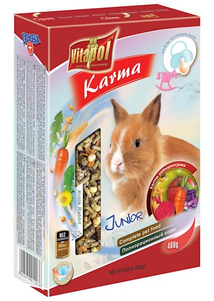 VITAPOL.KRÓLIK 400g Junior