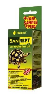 SANIREPT 15ml pielęgnacja skorupy żółwi lądowych