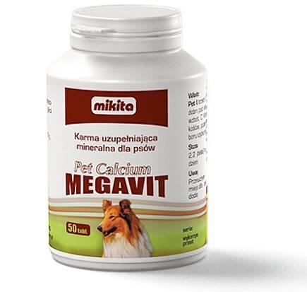 PET CALCIUM MEGAVIT  50tabl
