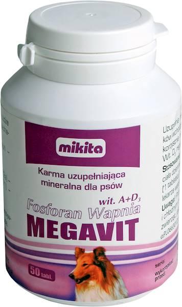 FOSFORAN WAPNIA A+D3 MEGAVIT  50tabl.