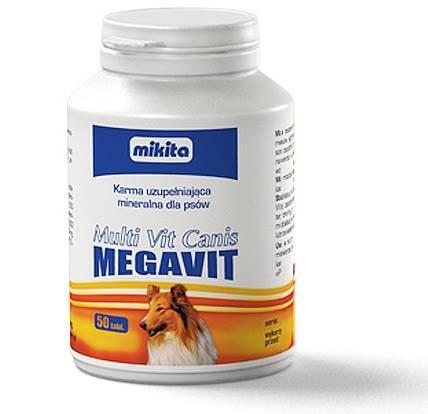 MULTI VIT CANIS MEGAVIT  50tabl.