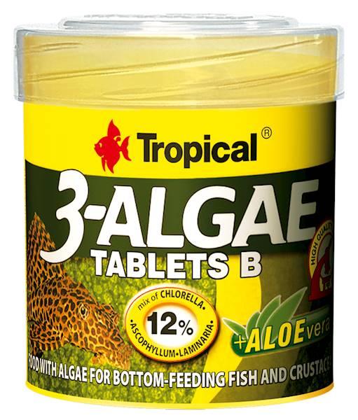 3-ALGAE TABLETS B 50ml/36g 200tab.