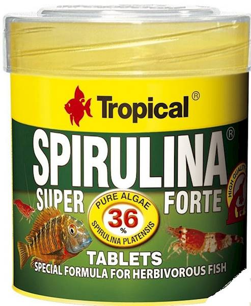 SPIRULINA FORTE 36% TABLETS 50ml/36g