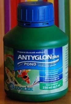 PREPARAT AKWARYSTYCZNY 250 ml ANTYGLON plus