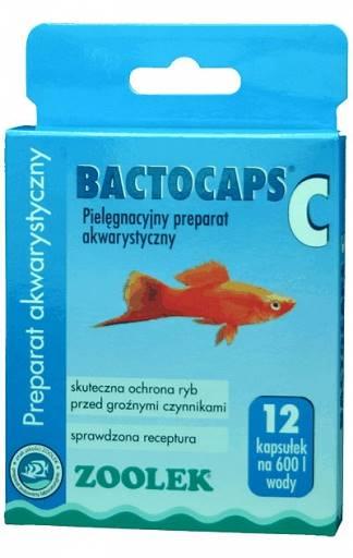 PREPARAT AKW. BACTOCAPS-C 12 kaps.