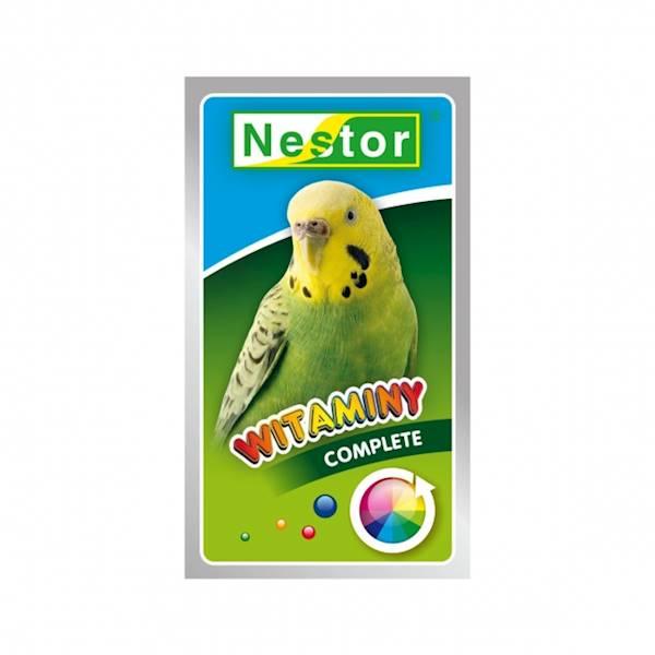 NESTOR WITAMINY 20g papużka ogólne