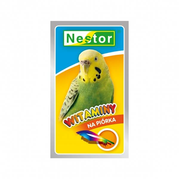 NESTOR WITAMINY 20g papużka na piórka