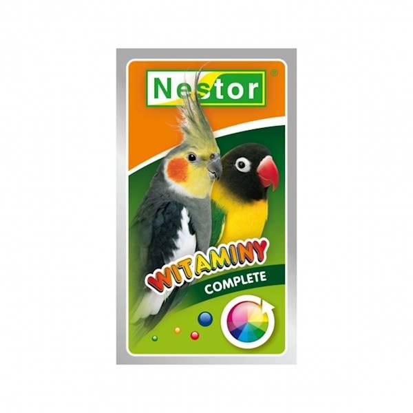 NESTOR WITAMINY 20g papuga średnia ogólne