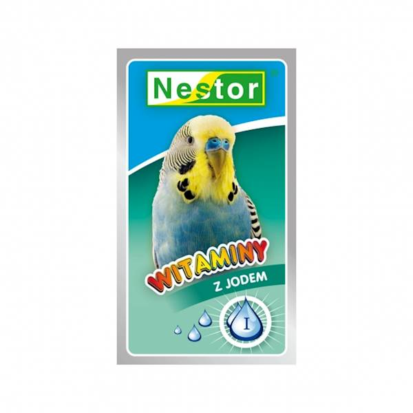 NESTOR WITAMINY 20g papużka z jodem