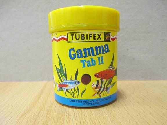 GAMMA II- TABL.DLA RYB wątrobowo-mięsne przylepne
