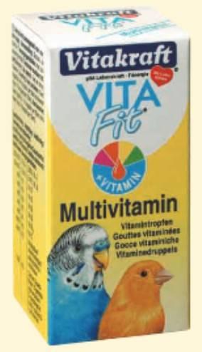 VITAKRAFT MULTIVITAMIN 10ml KROPLE dla ptaków