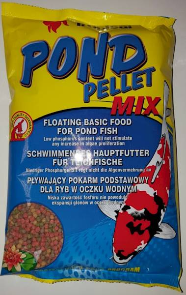 KOI  1000ml PELLET MIX /TROPICAL-WOREK