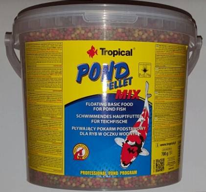 KOI  5L/700g PELLET MIX /TROPICAL-WIADRO