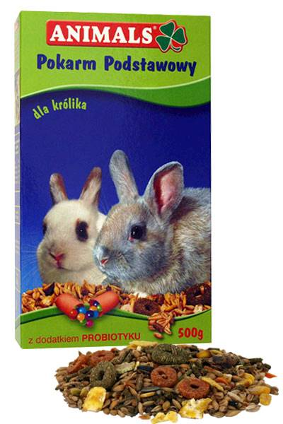 ANIMALS KRÓLIK 500g