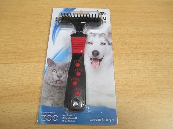 ZGRZEGŁO JEDNORZĘDOWE 15,5cm dla psa i kota