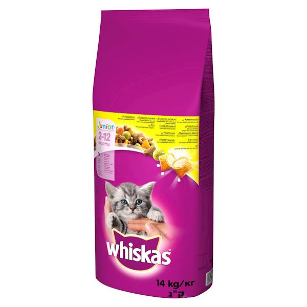 WHISKAS 14kg JUNIOR *
