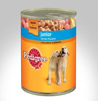 PEDIGREE JUNIOR 400g KURA *