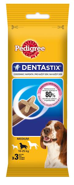 PEDIGREE DENTASTIX MEDIUM 77g *