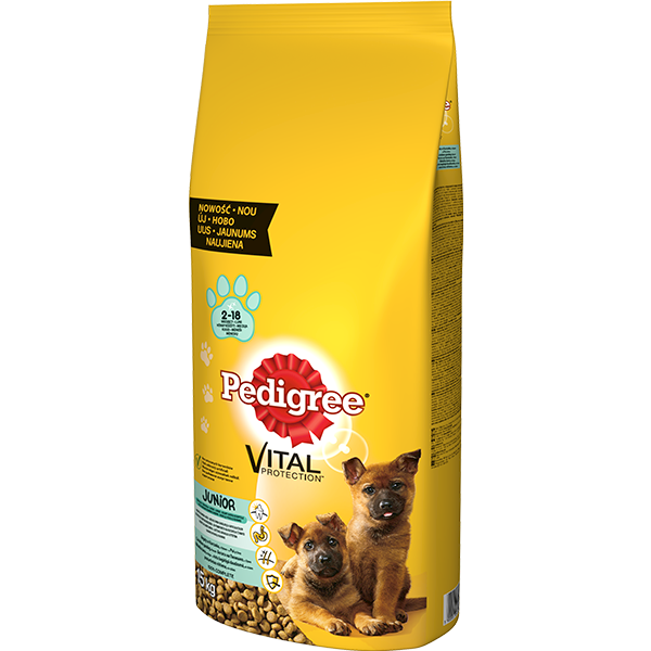 PEDIGREE 15kg JUNIOR DUŻE RASY *