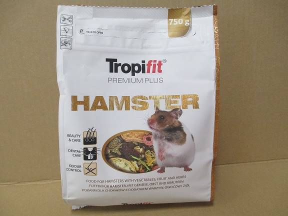TROPIFIT  PREMIUM PLUS HAMSTER 750g