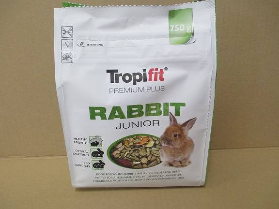 TROPIFIT  PREMIUM PLUS RABBIT JUNIOR 750g