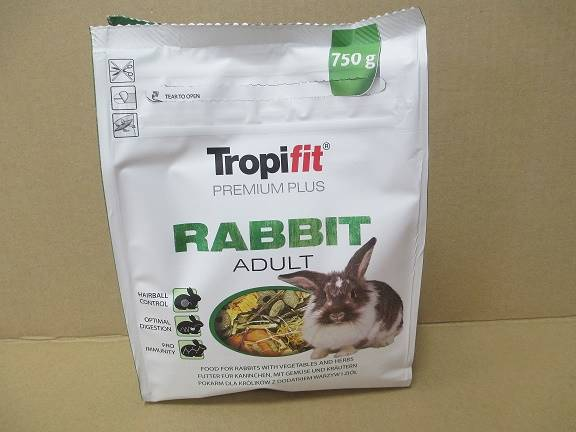 TROPIFIT  PREMIUM PLUS RABBIT ADULT 750g