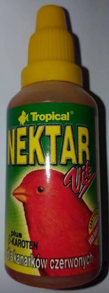 Nektar-vit dla kanarków czerwonych 30ml