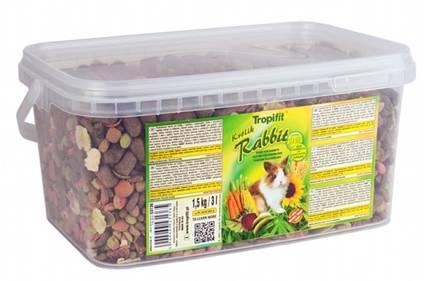 TROPIFIT RABBIT-KRÓLIK 3L/1,5kg