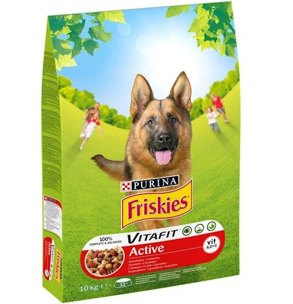 FRISKIES PIES ACTIVE 10kg