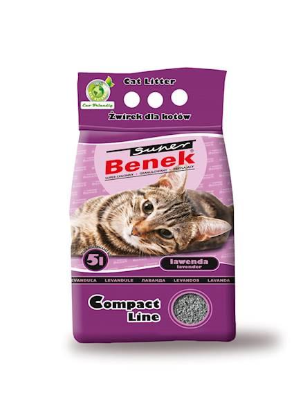 PIASEK S.BENEK COMPACT LAWENDA  5L
