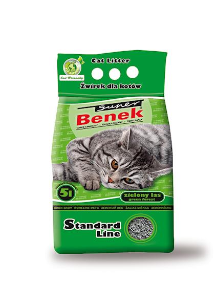 PIASEK S.BENEK ZAPACH  5L(zielony)