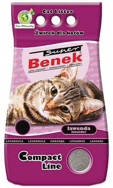 PIASEK S.BENEK COMPACT LAWENDA 10L