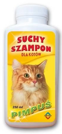 SZAMPON SUCHY PIMPUŚ/MILUŚ dla kotów 250ml