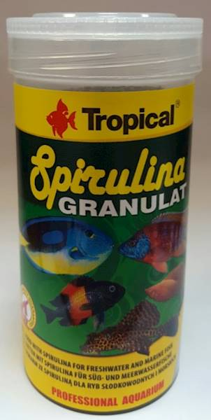 SPIRULINA GRANULAT 1000ml/440g