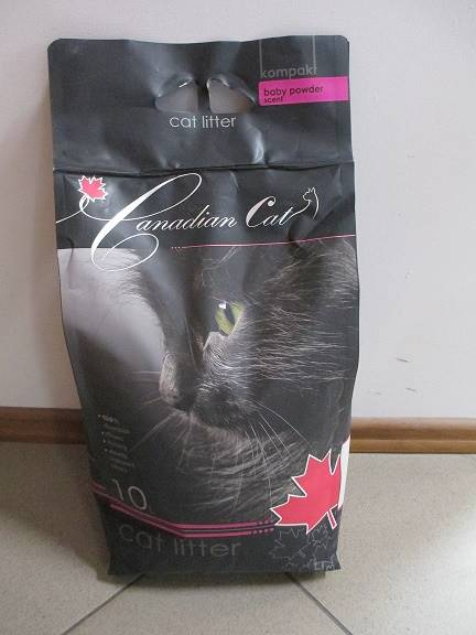 PIASEK CANADIAN CAT BABY POWDER 10L