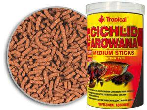 CICHLID&AROWANA MEDIUM STICKS 1000ml/360g