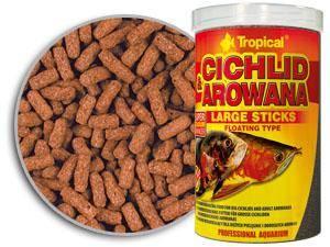CICHLID&AROWANA LARGE STICKS 1000m/300g