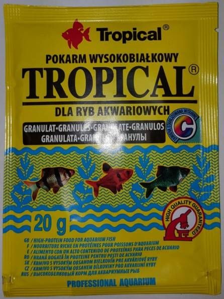 TROPICAL GRANULAT  20g saszetka