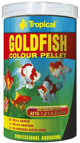 GOLDFISH COLOR PELLET 1000ml/360g