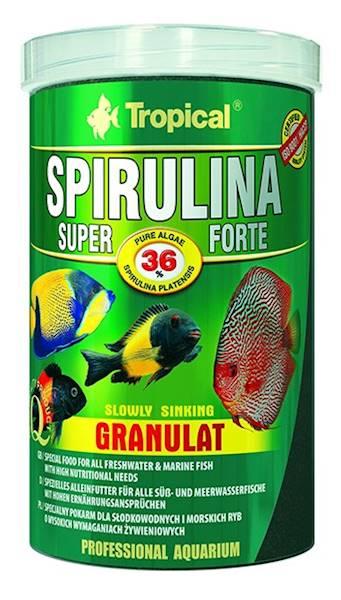 SPIRULINA FORTE 36% GRANULAT 100ml/60g