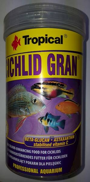CICHLID GRAN 1000ml/550g