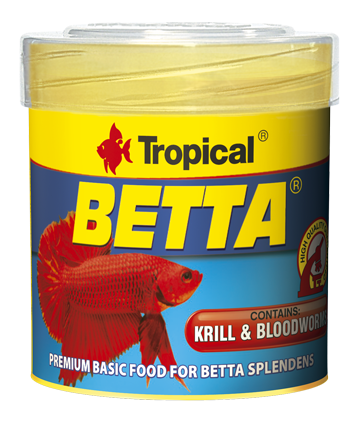 BETTA  50ml/15g - pokarm dla bojownika