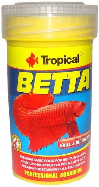 BETTA 100ml/25g - pokarm dla bojownika
