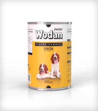 WODAN PIES 410g JUNIOR-kura