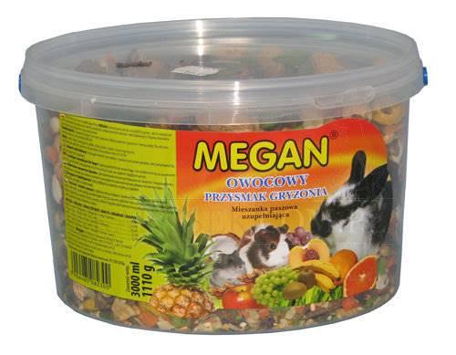 MEGAN  GRYZOŃ OWOCOWY 3000ml