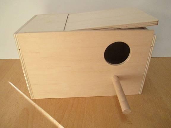 PINO BUDKA LĘGOWA DLA FALISTEJ 21x11,5x11,5cm