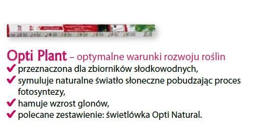 D.ŚWIETLÓWKA OPTI PLANT 15W 45cm