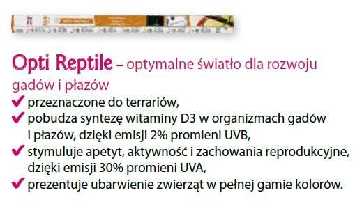 D.ŚWIETLÓWKA OPTI REPTILE 15W 45cm