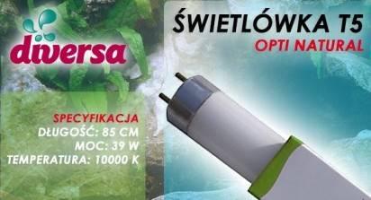 D.ŚWIETLÓWKA OPTI NATURAL T5 39W 85cm