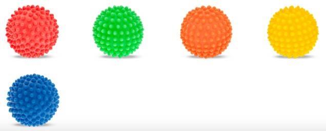 ZB. AM piłka jeż 67mm